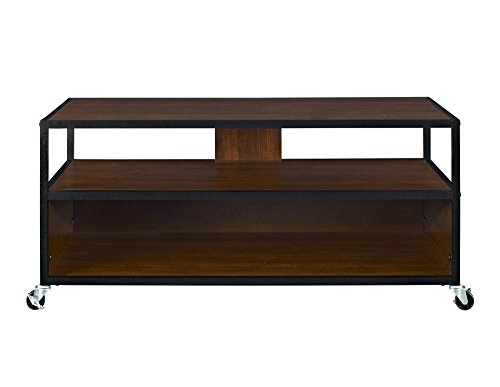 Altra Wildwood Wood Veneer 50 Tv Stand Rustic Gray