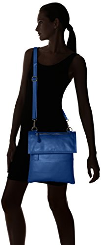 Women's 89 282802 Think Cross Bag capri body Tasche Blue BwxOHqn6P