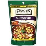 BEAR CREEK Minestrone Soup Mix - 9.3 OZ - CS x6