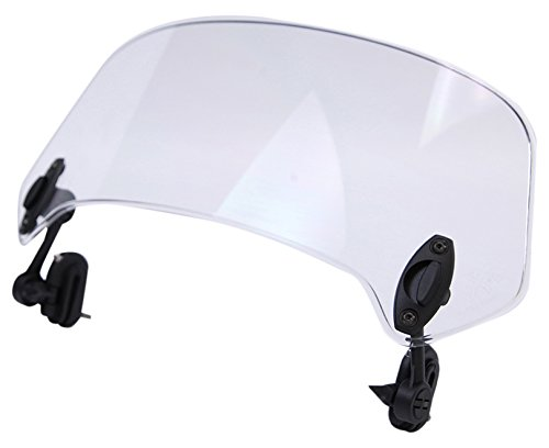 (MRA (XCC.0 X-Creen Clear Clamp-On/Add-On Variable Windscreen Spoiler Blade)