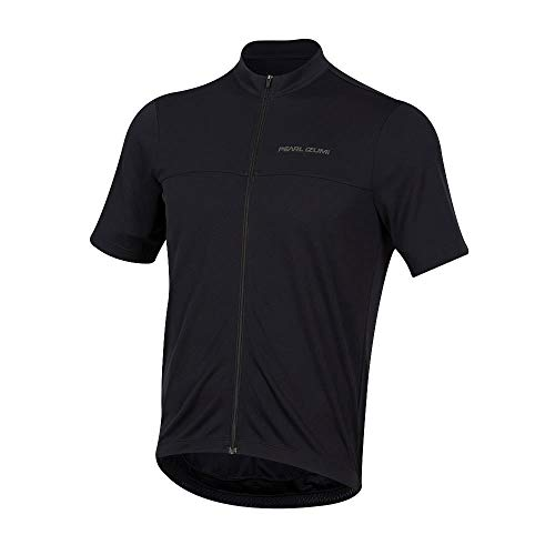 Pearl Izumi Men's Select Short Sleeve Quest Jersey, Black, Medium