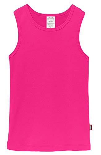 City Threads Little Girls' Cotton Racerback Racer Back Razer Back Tank Top T-Shirt Tee Tshirt Summer Dance Play School Sports Sensitive Skin SPD Sensory Sensitive Clothing, Hot Pink, 8]()