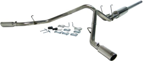 MBRP S5128409 T409-Stainless Steel Dual Split Side Cat Back Exhaust System (1500 2007 Ram Mpg Dodge)