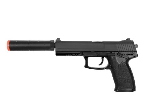 BBTac M23 Airsoft Gun Mark23 Spring Airsoft Pistol with Warranty