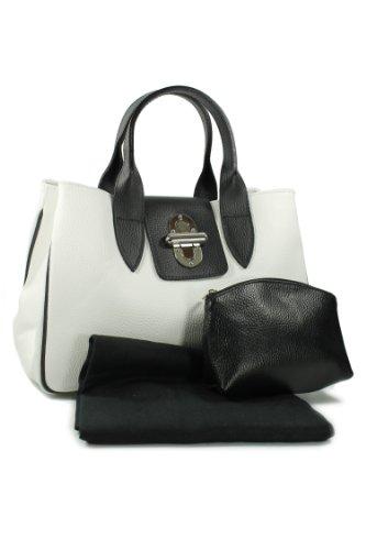 Belli - Tote Bag Leather White White Woman