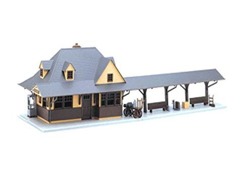 Atlas O Scale Kit Suburban Passenger Station ()