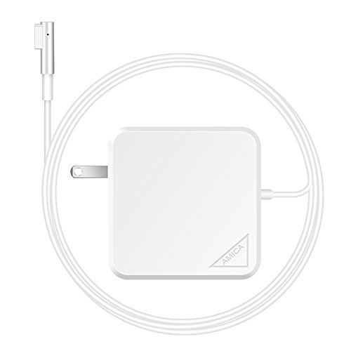AMICA Laptop 60W Power Adapter Charger for Apple Macbook Pro 13.3 inch ( Magsafe L-Tip Only , Compatible (Laptop Chargers For Apple)