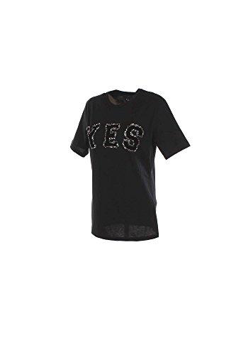 T-shirt Donna Shiki L Nero 16isk34068 Autunno Inverno 2016/17