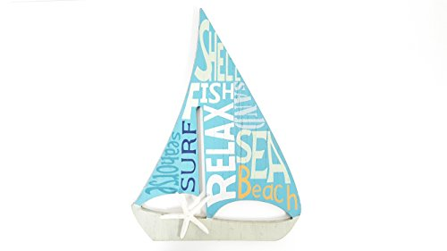 Blue-Sailboat-MDF-Wall-Decor