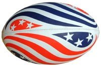 Stars and Stripes Rugby Ball