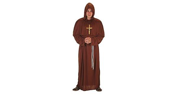 LLOPIS - Disfraz Adulto fraile: Amazon.es: Juguetes y juegos