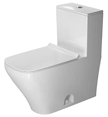 Duravit 2157010005 Durastyle Toilet, 1-Piece (Seat not included)