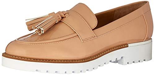 Franco Sarto Women's Carolynn Loafer Flat, Peach, 10 M -