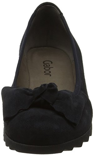 Wedge Gabor Womens Gabor Blue Gable Shoes Womens Pazifik Heel aIqZIyUK