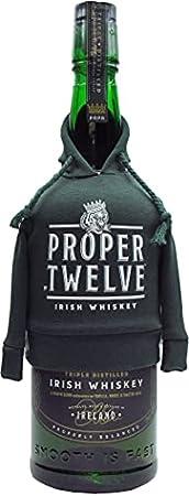 Proper 12 Twelve Irish Whiskey Ltd Edition 70cl Hoodie Bottle