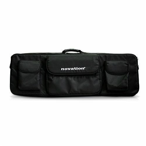 Novation 61 Soft Shoulder Bag for 61-Key MIDI Controller Keyboards, Black