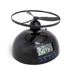 Vivan's Shop® Digital Loud Flying Helicopter Alarm Clock LCD Display