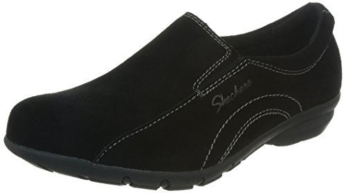 Skechers Women's Caree-Worker Bee Fashion Sneaker,Black,7 M US