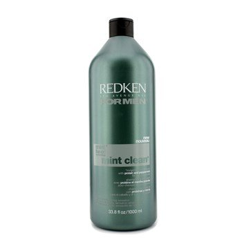 Redken for Men Mint Clean Invigorating Shampoo 33.8oz (Clean Mint Redken Shampoo)