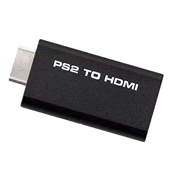 Goldoars PS2 HDMI Audio Video Konverter Adapter w 3,5 mm Audio Ausgang HDTV Monitor