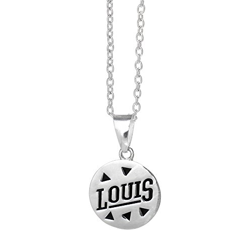Louis One Direction (One Direction Louis Logo Disc Necklace)
