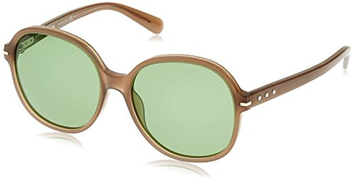 Marc Jacobs Sunglasses Women's Round Sunglasses, Opal Mud/Green, One - Marc Green Sunglasses Jacobs