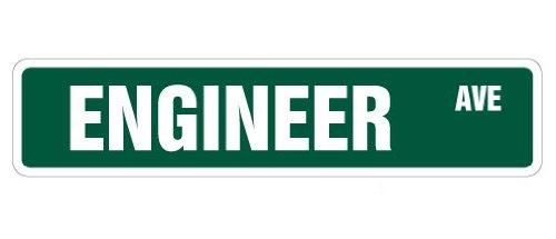 (Cortan360 ENGINEER Street Sign civil chemical engineering electrical degree 8