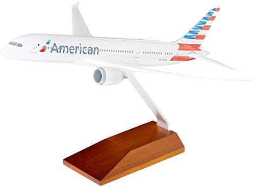 (Skymarks American 787-8 1/200 Scale w/Wood Stand)