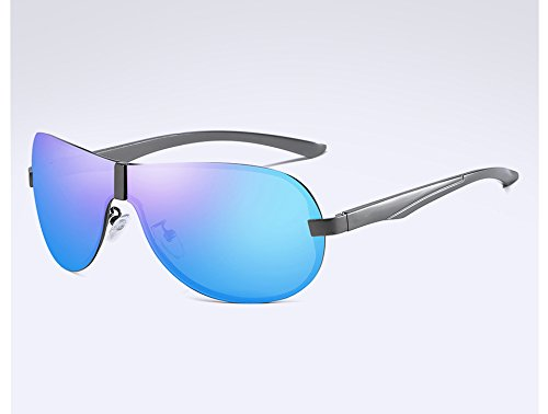 polarizadas Gafas Viajes Gafas Gris Masculina para Hombre de Sol Guía Sol Gafas Visión de gray Hombres Sol Sunglasses Gafas Sol TL de blue de Nocturna qwZF7xc