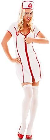 Fyasa 705867-t04 – Disfraz de enfermera para niña, tamaño grande ...