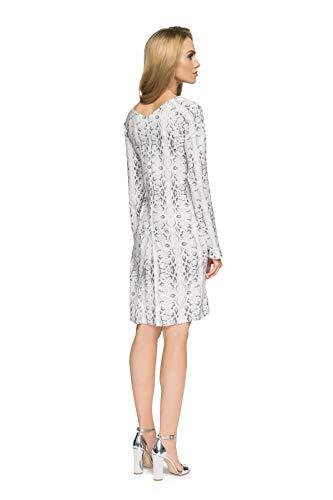 1 Luftiges Falten mit Modell Clea Kleid 1wdXPYUnq