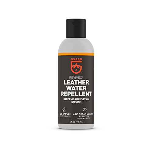 Gear Aid Revivex Leather Water Repellent for Shoes and Boots, 4 fl oz