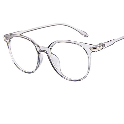 Londony Vintage Eyewear 2019 in Lightweight Block Glasses Round Optical Glasses Non-Prescription Eyeglasses from Londony