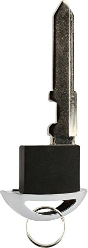 KeylessOption Keyless Entry Remote Prox Smart Key Go Remote Emergency Insert Blade Blank Replacement