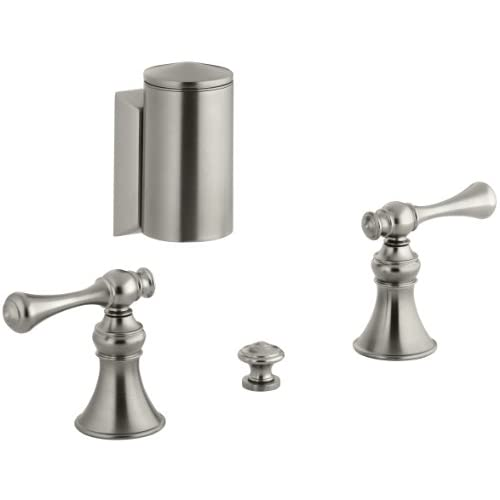 good KOHLER K-16137-4A-BN Revival Bidet Faucet, Vibrant Brushed Nickel