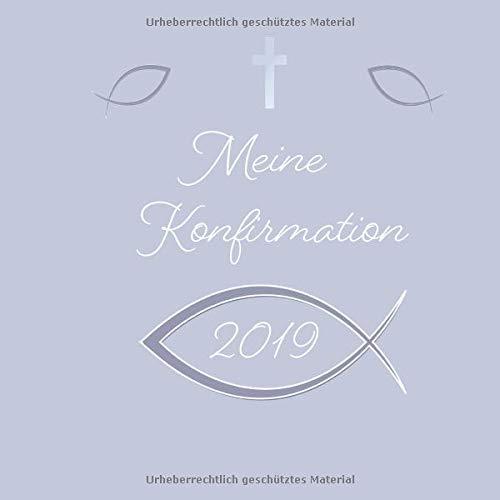 Meine Konfirmation 2019 Gästebuch Für Konfirmation Mädchen