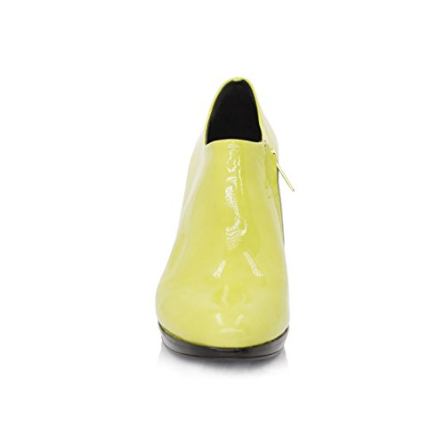 Stiefeletten Ankleboots Stiletto 9cm Lemon Lackleder (Original)