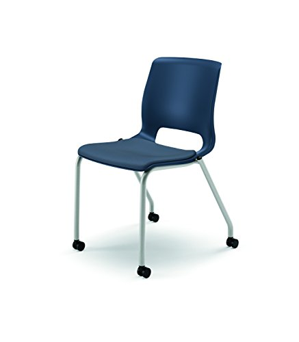 HON HMG2.N.A.RE.CU90.PLAT Motivate Stacking Chair, Cerulean