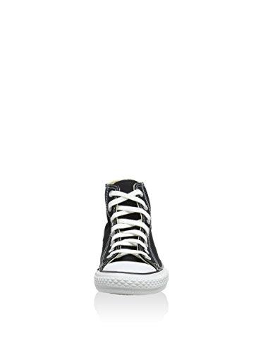 Converse Chuck Taylor All Star Core Hi Zapatillas de tela, Unisex - Infantil Negro