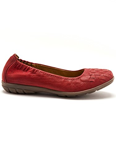Balsamik - BALLERINA - Damen - Size : 0 - Colour : Rot medium dicht