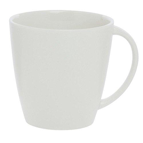 Cardinal Olea 11.75 oz White Porcelain Coffee Mug - 4 1/2