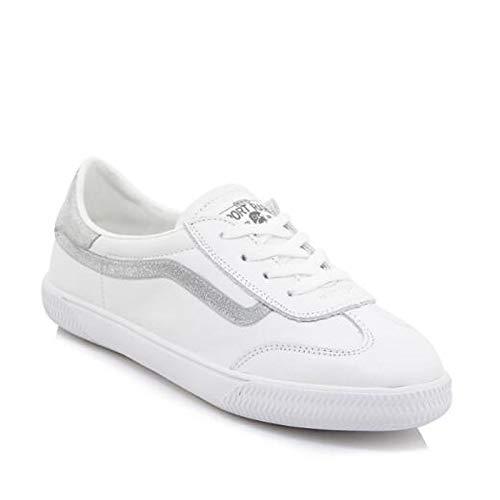 Summer Heel Rainbow Sneakers Cerrado Dedo del Plata Rainbow ZHZNVX de Flat Mujer Comfort Leather pie Nappa Spring Zapatos wvwB4fFxqY