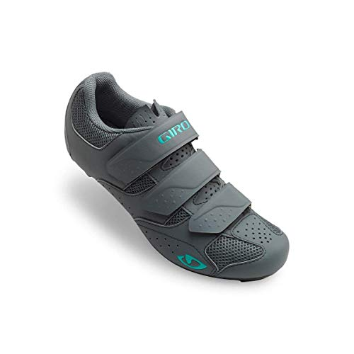 Giro Techne Cycling Shoes - Women's Titanium/Glacier 40