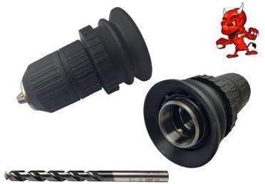 te 6S Mandrin rapide Foret bois Convient pour Hilti TE 6A te 6C diam/ètre de la tige du bohrers 2-13mm 1Mandrin Porte-outils pour spirale HSS Forets /à m/étaux