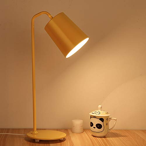 ZHANGBD Romantic Warm Desk Bedside Lamp Reading Lights Table Lamp Personality Creative Desk Lamp Nordic Desk Lamp for Bed, Kids, Study,Reading,Wedding [Energy Class A+] (Color : Green) by ZHANGBD (Image #5)
