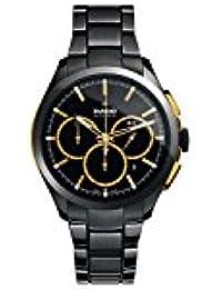 Hyperchrome Chronograph Black Dial Black Ceramic Mens Watch R32277152