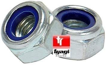 Tyagi Racing 1//4 UNC Nylock Nut
