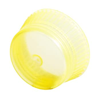 Bio Plas 6730 16mm Uni-Flex Safety Caps for Culture Tubes and Test Tubes, Yellow (Pack of 1000)
