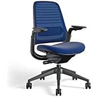 Steelcase 435A00 Series 1 Work Chair Office, Royal Blue