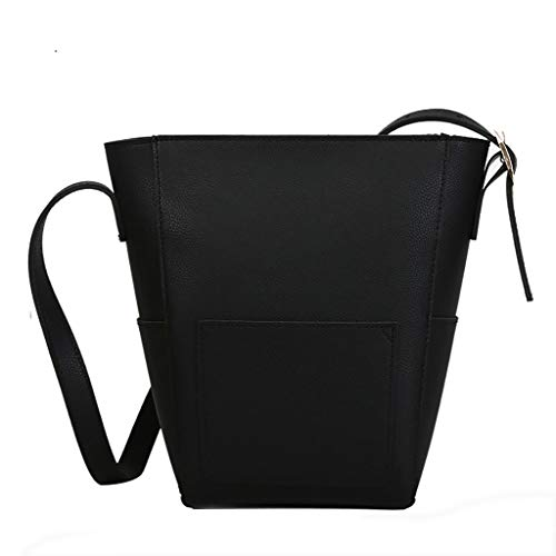 Sinzelimin Designer Shoulder Bag for Women or Girls, Fashion Retro Crossbody Handbag Saddle Bag Premium Office Briefcase